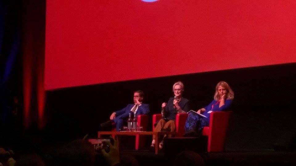 """Festa del cinema di Roma, Meryl Streep: """"Nei film amo tutti i personaggi che interpreto"""""""