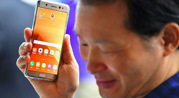 Samsung Galaxy Note 7: sospesa la produzione per il surriscaldamento dei dispositivi