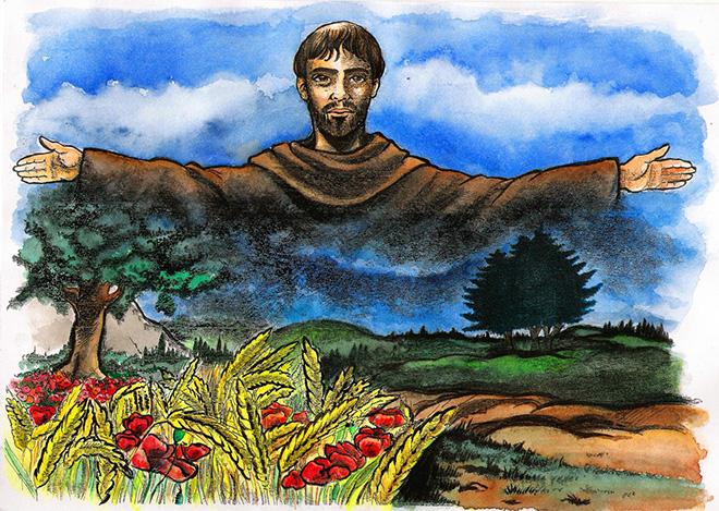 San Francesco d'Assisi: la storia per i bambini