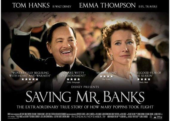 Saving Mr. Banks: il film in tv mercoledì 19 ottobre (Video)