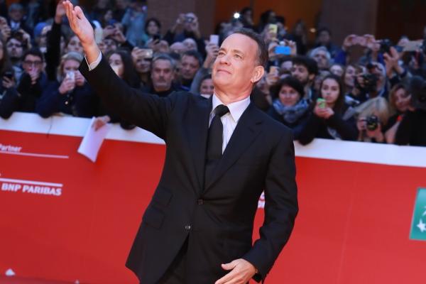 Tom Hanks sul red carpet della Festa del Cinema di Roma 2016 (Video)