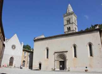 Terremoto a Visso, Video Crollo Chiesa