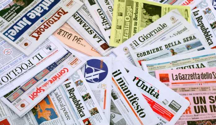 Giornali di Oggi, Prime Pagine Quotidiani (19 ottobre 2016)