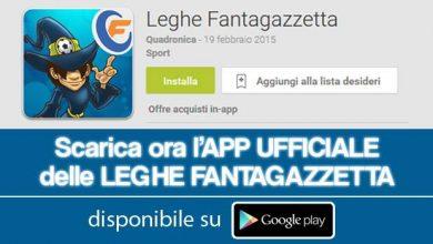 Photo of Leghe Fantagazzetta, app pro: le news sul Fantacalcio di Fantagazzetta
