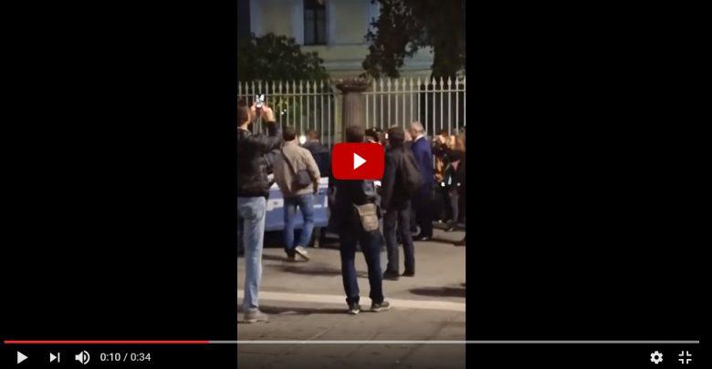Abete fermato dalla Polizia ad Avellino (Video)