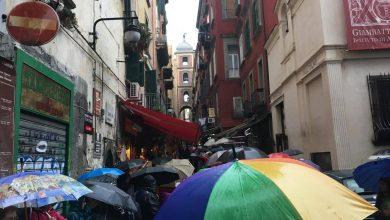 Napoli, boom di turisti nonostante la pioggia