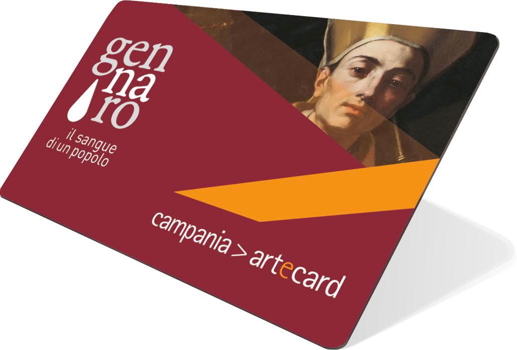 San Gennaro Card, da Campania Artecard la carta per visitare i luoghi del Santo