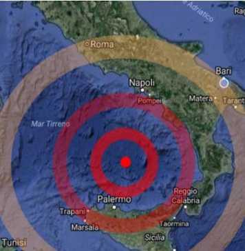 Televisione newsly for Ingv lista terremoti di oggi