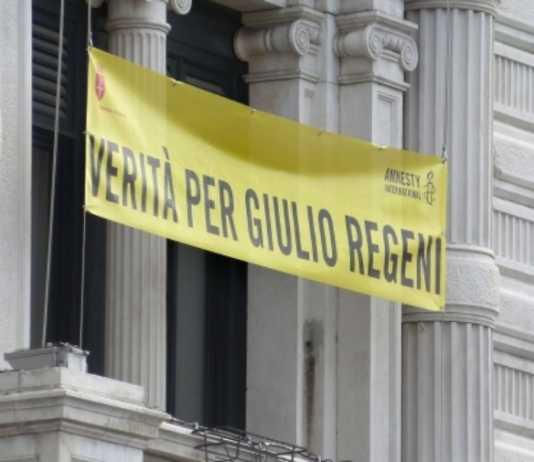 Trieste Striscione per Regeni, il Comune decide di non esporlo più