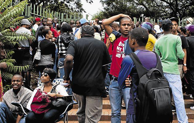 Sudafrica, scontri per protesta di universitari: 9 arresti