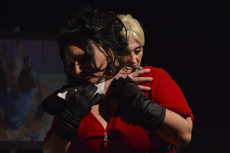 """Cristiana Marchetti, presentazione """"Ritratti-Ritter, Dene, Voss"""" al teatro """"Il Primo"""": intervista a Newsly 1"""
