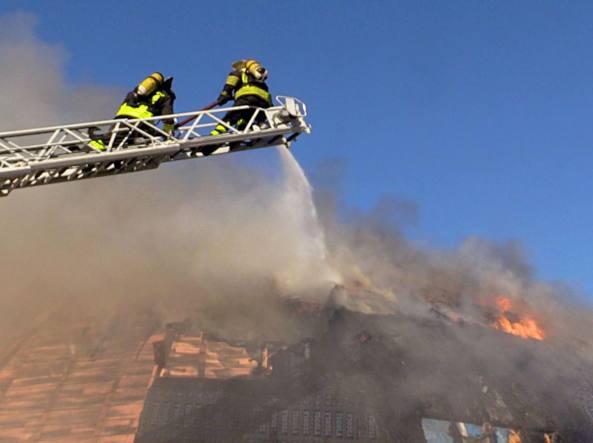 Incendio Auditorium Albergotti a Roma oggi 30 novembre: Nessun ferito