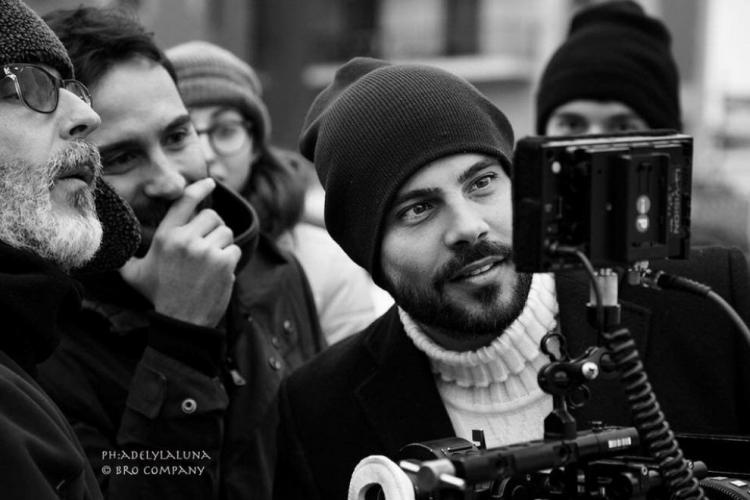 """""""Uomo in mare"""" con Marco D'Amore, presentazione alla Feltrinelli in Piazza dei Martiri Napoli (3 dicembre 2016)"""