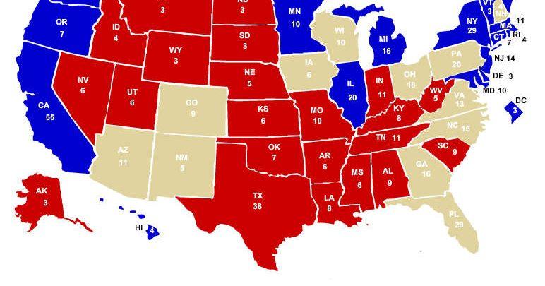 Elezioni Usa 2016, cosa e quali sono gli Swing States (Stati in bilico)?