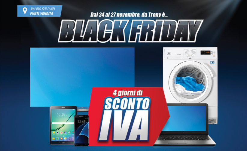 Black Friday Trony: le Migliori Offerte di Oggi 25 ...