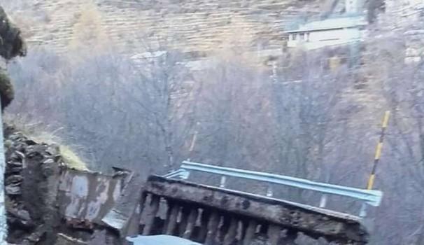 Maltempo Nord Italia: Frazione di Monesi scivola a valle