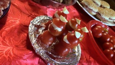 Photo of Ricette di Natale, Antipasti: Babbi Natale alla caprese