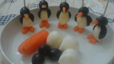 Photo of Ricette di Natale, Antipasti: Spiedini di Pinguini