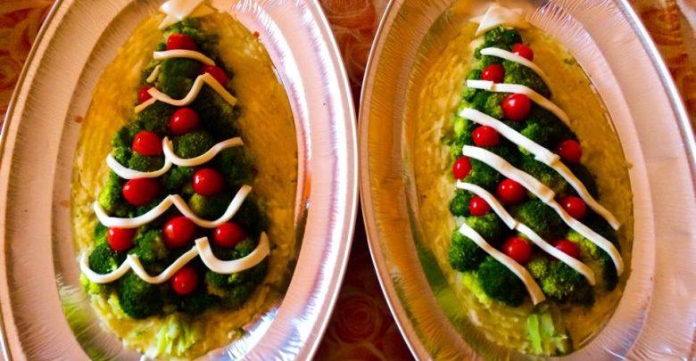 Antipasti Di Natale Vegetariano.Ricette Di Natale Antipasti Alberello Vegetariano Natalizio