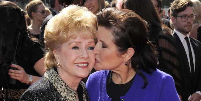 Debbie Reynolds morta: era la madre di Carrie Fisher