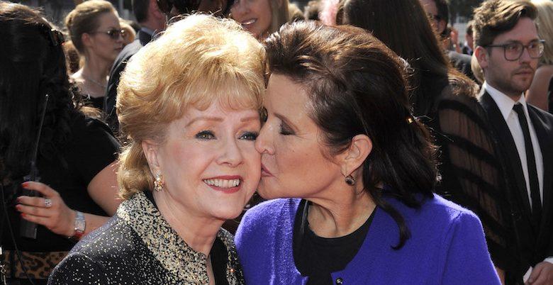 Debbie Reynolds morta: era la madre di Carrie Fisher