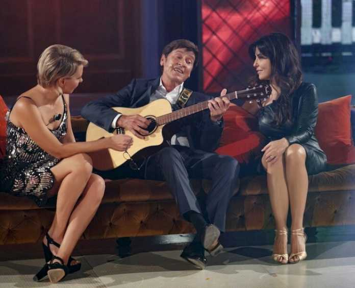Gianni Morandi ad House Party canta