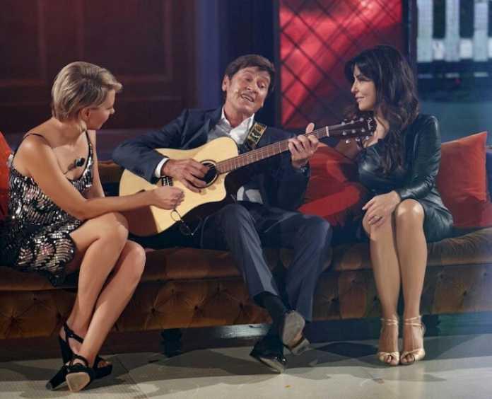 Gianni Morandi ad House Party canta