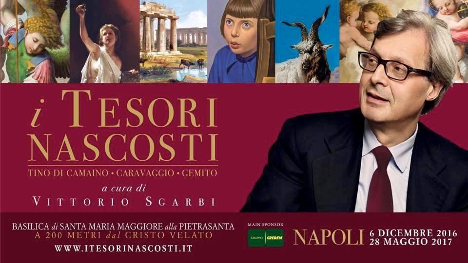 """Mostra """"I Tesori Nascosti"""" di Vittorio Sgarbi a Napoli: le Opere esposte"""