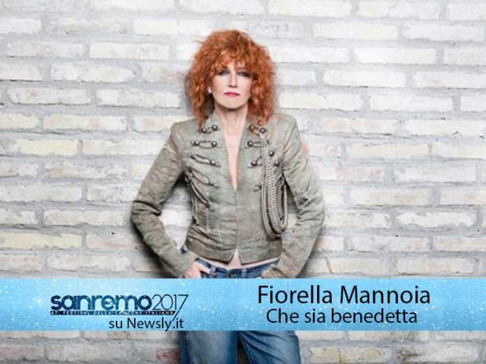 Sanremo 2017, Fiorella Mannoia in gara con