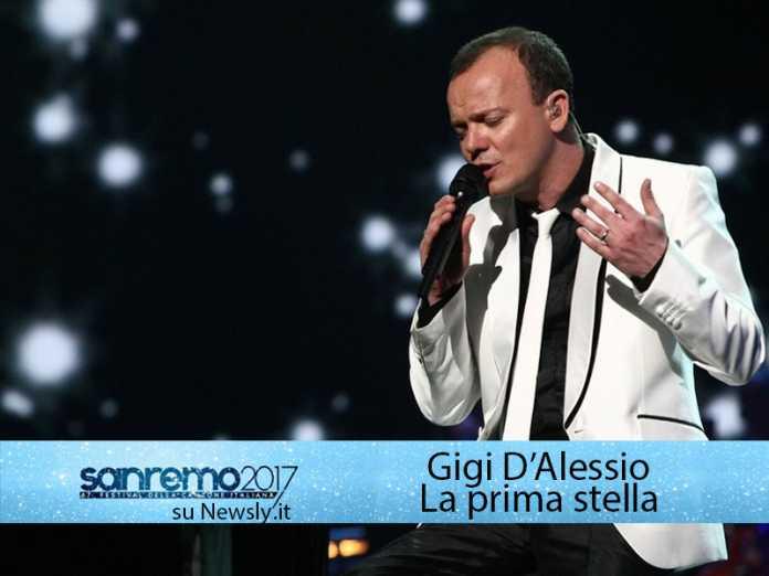 Gigi D'Alessio al Festival di Sanremo 2016 con