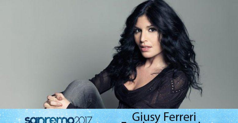 """Giusy Ferreri a Sanremo 2017: """"Fatalmente male"""" la canzone in gara"""
