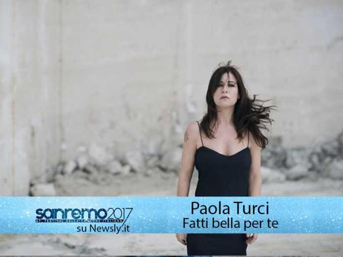Festival di Sanremo 2017, Paola Turci in gara con