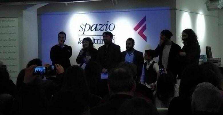 Marco D'Amore, Uomo in mare: Anteprima Feltrinelli Napoli 3 dicembre 2016 (Foto) 2