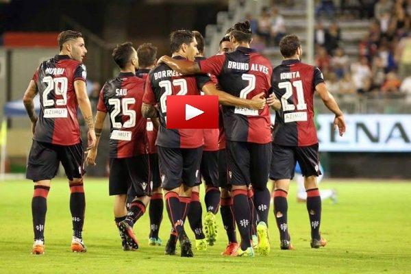 Video Gol Pescara-Cagliari 1-1 Highlights, Sintesi e Tabellino
