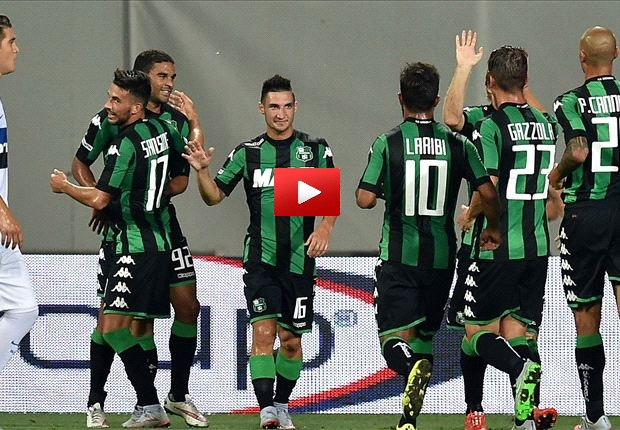 Video Gol Sassuolo-Empoli 3-0 Highlights, Sintesi e Tabellino