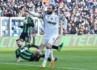 Fantacalcio Sassuolo-Juventus 0-2, Voti Gazzetta dello Sport