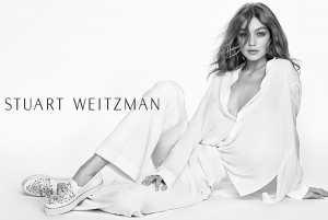 Gigi Hadid, senza veli per la nuova campagna di Stuart Weitzman (Foto) 2