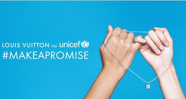 Make a Promise, Louis Vuitton e Unicef insieme per i bambini bisognosi