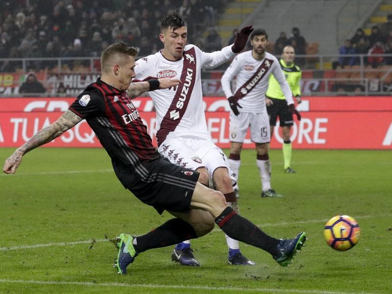 Video Gol Milan-Torino 2-1: Highlights, Sintesi e Tabellino (Coppa Italia 2016-17)