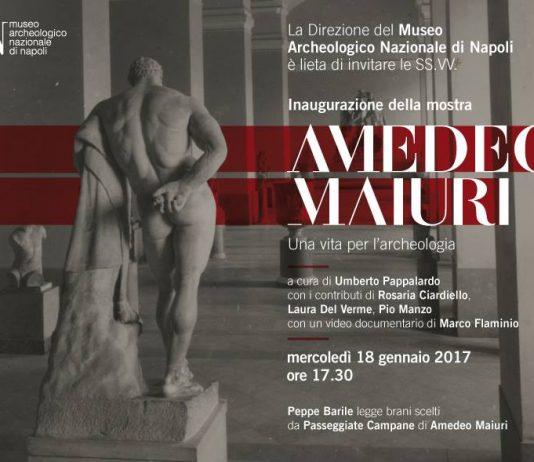 Mostra Amedeo Maiuri al Museo Archeologico Nazionale di Napoli: Programma e Opere Esposte