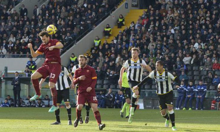 Voti Udinese-Roma 0-1, Fantacalcio Gazzetta dello Sport