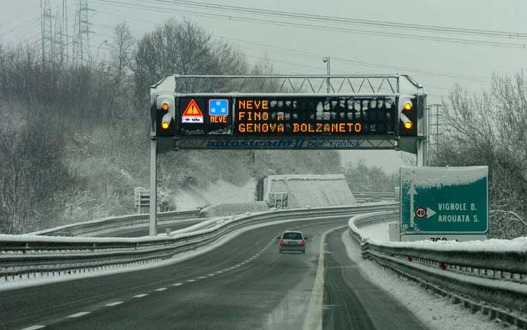 Viabilità, Autostrade a Rischio Chiusura per la Neve: la lista aggiornata