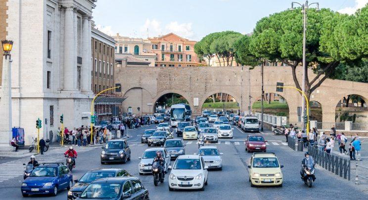 Blocco Auto Roma Oggi (15 Gennaio 2017)