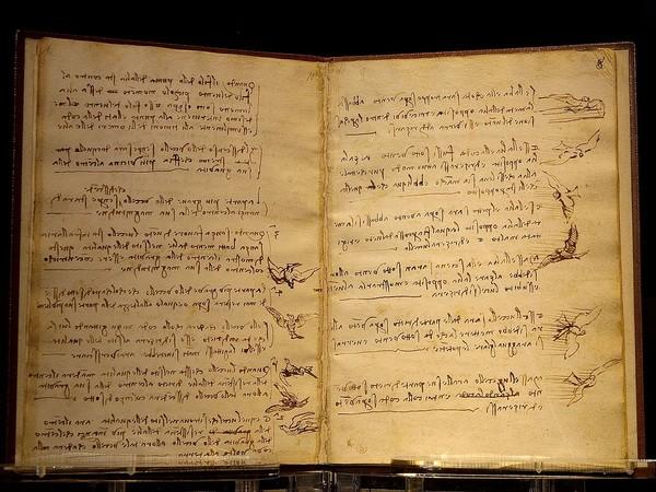 Il Codice del Volo di Leonardo da Vinci a Roma: esposto ai Musei Capitolini 2