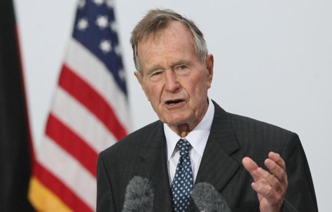 George Bush senior ricoverato in ospedale: le Condizioni