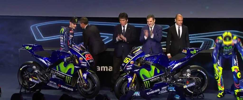 Nuova Moto Valentino Rossi MotoGP 2017 (Foto M1) 2