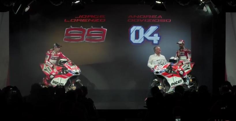 Nuova Ducati MotoGp 2017 (Foto Desmosedici) 3