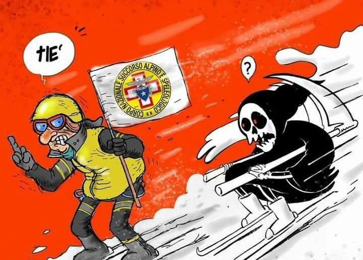 Vignetta Charlie Hebdo sulla Valanga, risposta Sindaco Amatrice