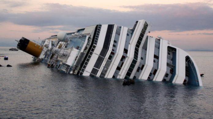 Genova, Incidente sulla nave Concordia: Ferito un Operaio