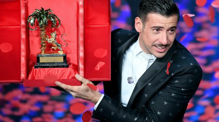 Sanremo 2017, Classifica iTunes sulle Vendite degli Album